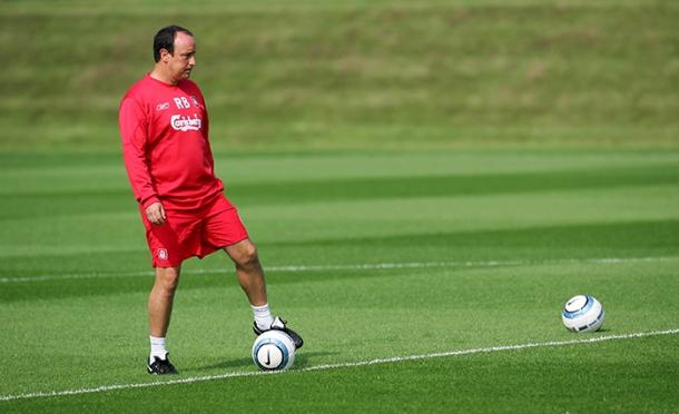 Soccer - FA Barclaycard Premiership - Liverpool Training